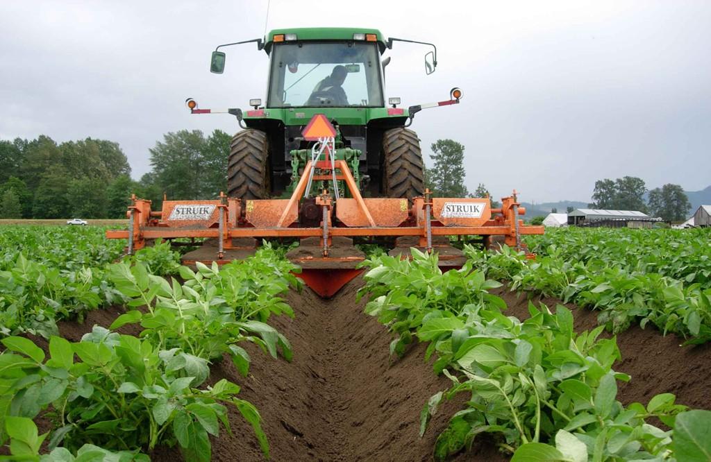 荷兰struik动力中耕机